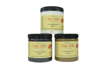 Dixie Mud - White, Brown or Clear - Dixie Belle Paint 8oz