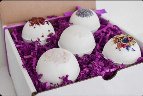 Bathbomb Gift Box - Pack of 5