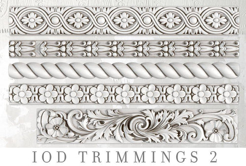 Trimmings 2 Decor Mould IOD