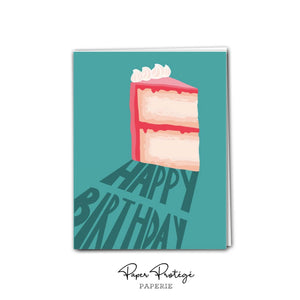 Cake Happy Birthday  Card PRO25