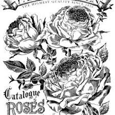 "Catalogue of Roses Paintable IOD Image Transfer (24""x33"")"