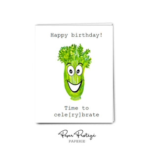Cele-brate Happy Birthday Card PRO29