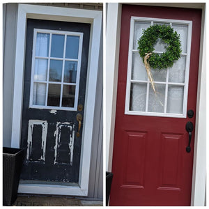 Front Door Make Over DIY Kit  (also Garage Door)