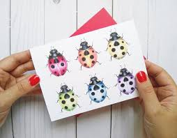 Lady Bug Card TOT32