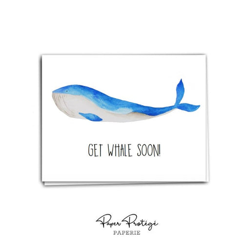 Get Whale Soon Get Better CardCard PRO19