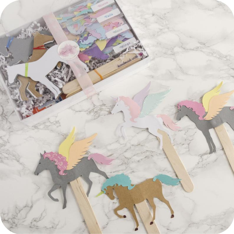 DIY Kit - Paper Puppet Kit Set of 12