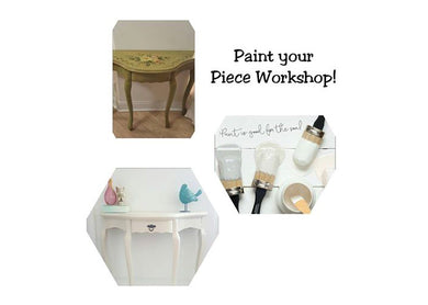 Paint Your Own Piece - Furniture Painting Workshop