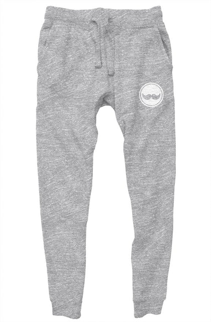 Classic Stash Sweatpants - Grey & White