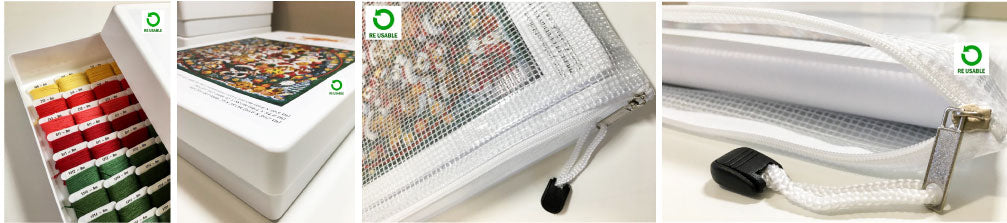 Extra large advanced cross stitch kits