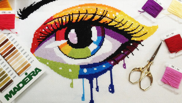 Yiotas cross stitch kits
