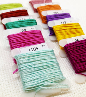 Yiotas cross stitch threads