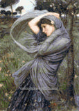 Boreas by Waterhouse counted cross stitch kit