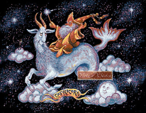 Capricorn counted cross stitch kit