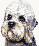 Dandie Dinmont Terrier counted cross stitch kit