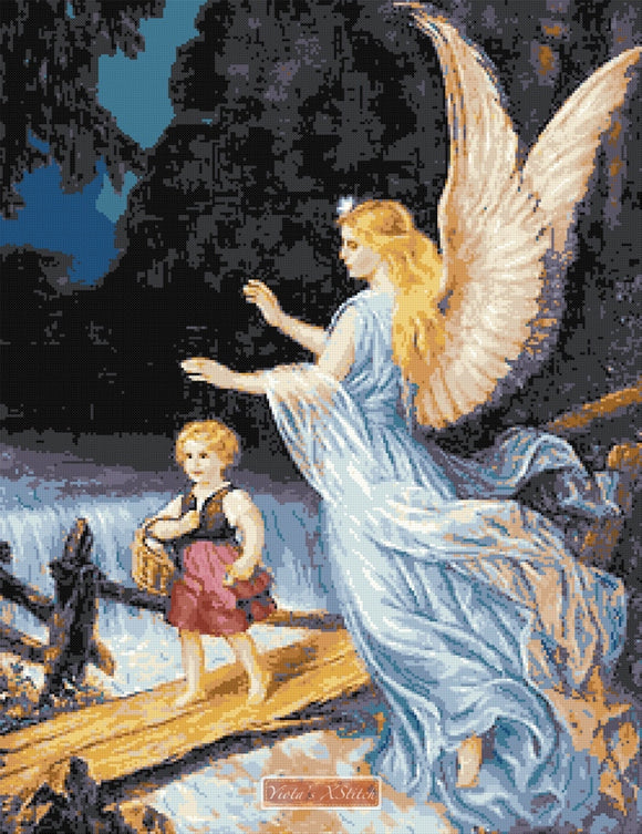 Guardian angel No7 counted cross stitch kit