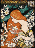 L'Ermitage Art Nouveau counted cross stitch kit