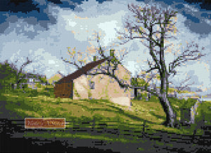 Long island farmhouses counted cross stitch kit