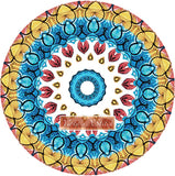 Mandala 10 counted cross stitch kit