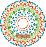 Mandala 02 counted cross stitch kit