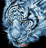 Nightstalker tiger counted cross stitch kit