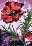 Poppy No2 counted cross stitch kit