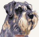 Schnauzer No3 counted cross stitch kit