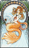 Sea maiden, mermaid counted cross stitch kit