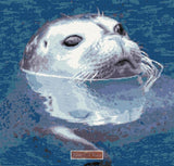 Seal in water counted cross stitch kit