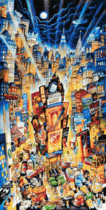 Showtime on broadway Manhattan counted cross stitch kit