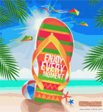 Summer Enjoy every moment counted cross stitch kit