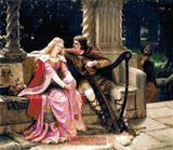 Tristan and Isolde counted cross stitch kit