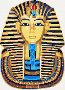 Tutankhamun cross stitch kit