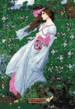 Windswept by John William Waterhouse counted cross stitch kit