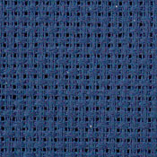 Zweigart 14 count navy blue aida for cross stitch