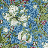 Blue lily William Morris counted cross stitch kit