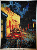 Cafe at night Van Gogh cross stitch kit