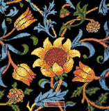 Sunflower by William Morris counted cross stitch kit