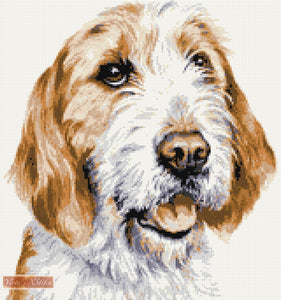 Welsh Foxhound counted cross stitch kit