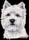 Westie face counted cross stitch kit