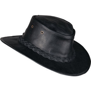 Barmah Hats Leather Hat - Moto Starter