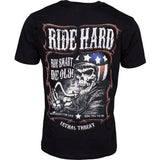 Lethal Threat Ride Hard T-Shirt - Moto Starter