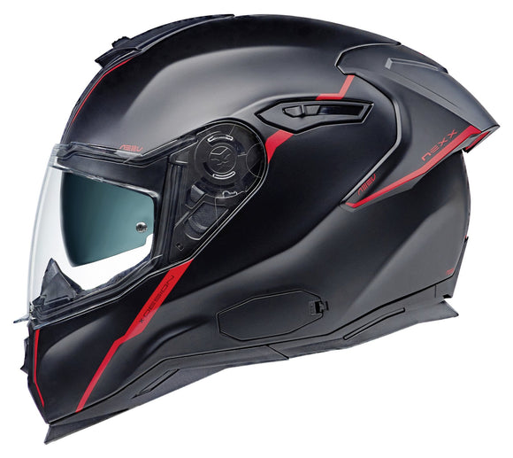 Nexx SX.100 R Shortcut MATT BLACK/RED