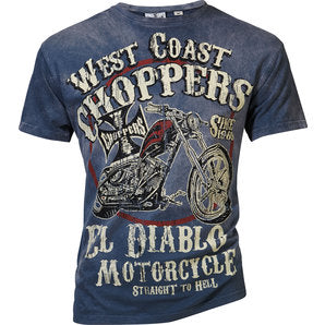 West Coast Choppers El Diablo T-Shirt - Moto Starter