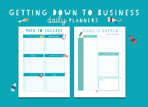 Getting Down To Business Daily Planners