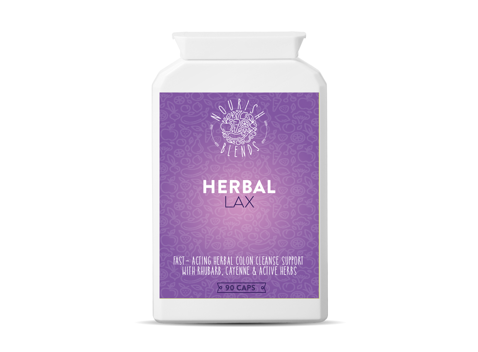 Herbal Lax (90 Caps)