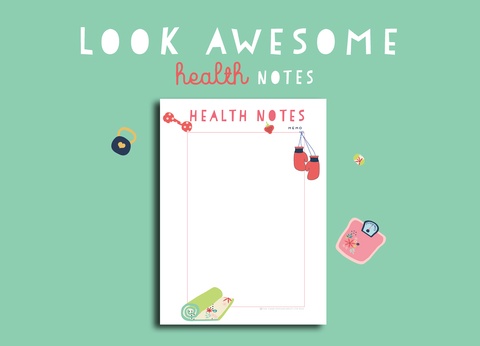 Look Awesome Health Notes