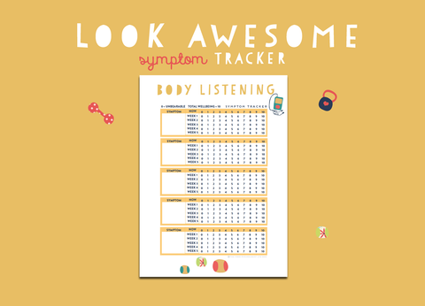 Look Awesome Symptom Tracker