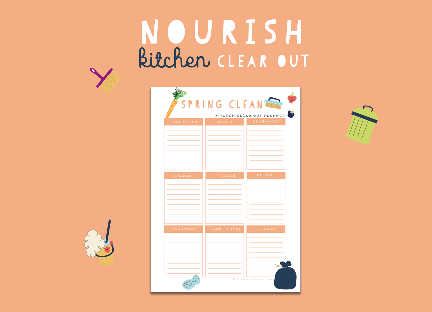 Nourish Kitchen Clear Out