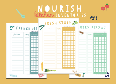 Nourish Menu Planner & Kitchen Kit