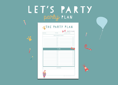 Let's Party Party Plan (Sky)